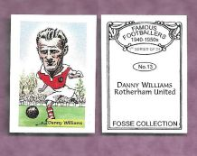 Rotherham United Danny Williams 13 (FC)